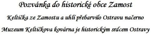 Pozvánka do historické obce Zamost-stranky