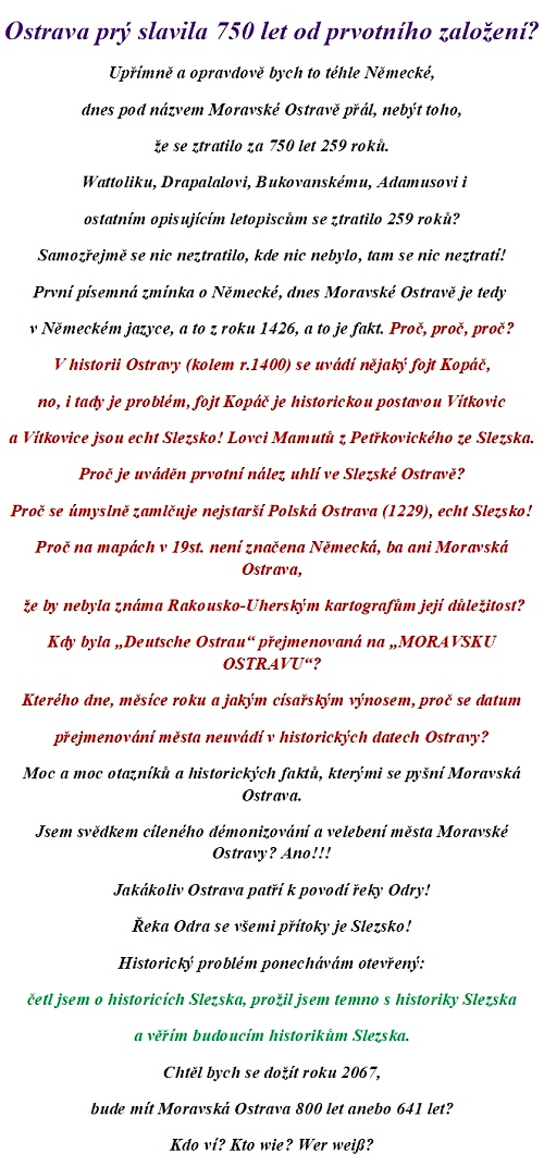Ostrava prý 750le-aaaa