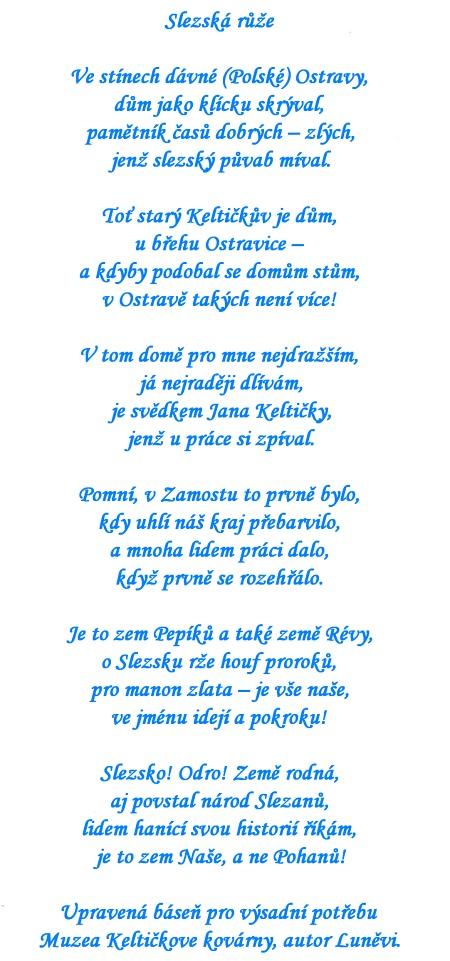Slezská růže - báseň - w