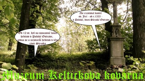 29-Hřbitov sv. Jiří i místo kostela - kříž-popis